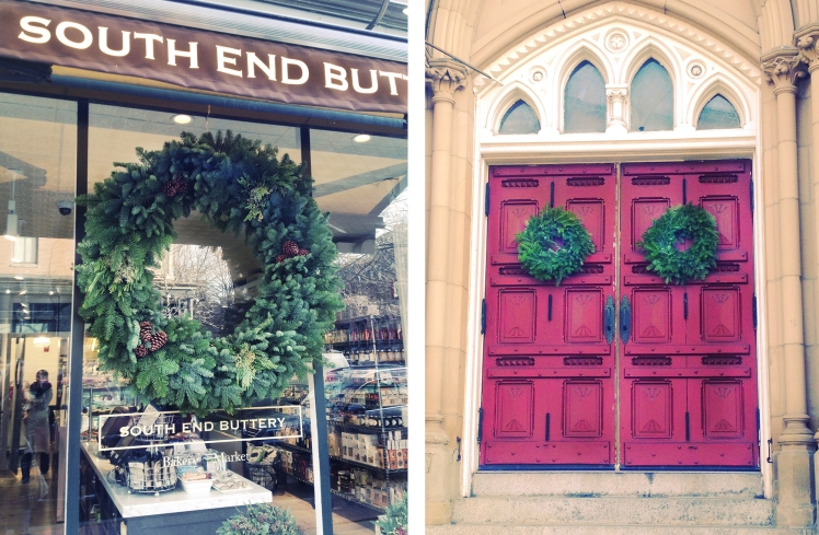 South End wreaths