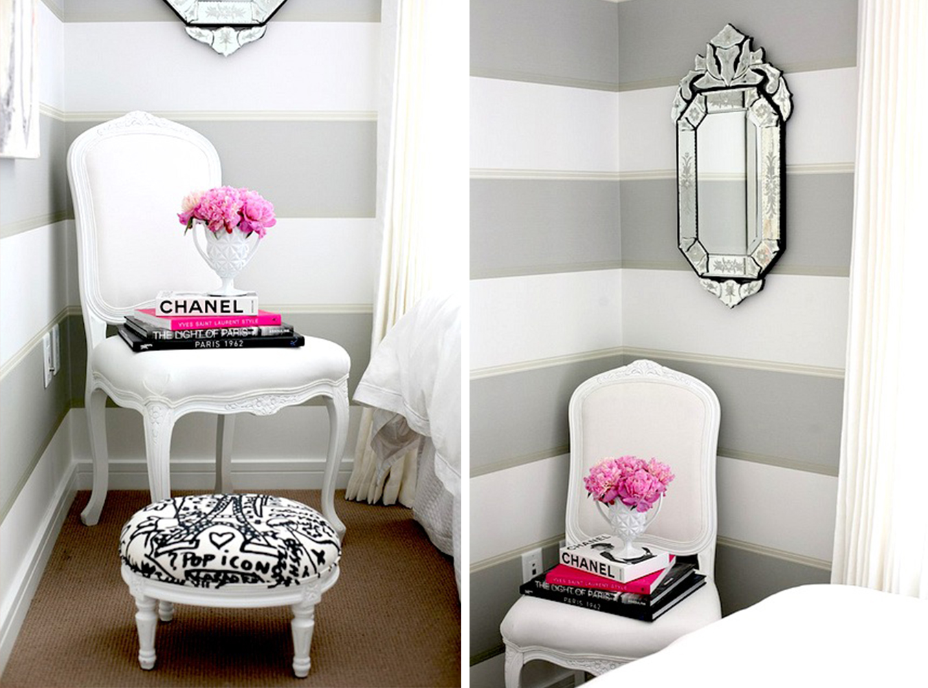 olor Palette: Gray, Pink, & White – Pop & ircumstance ... - ^
