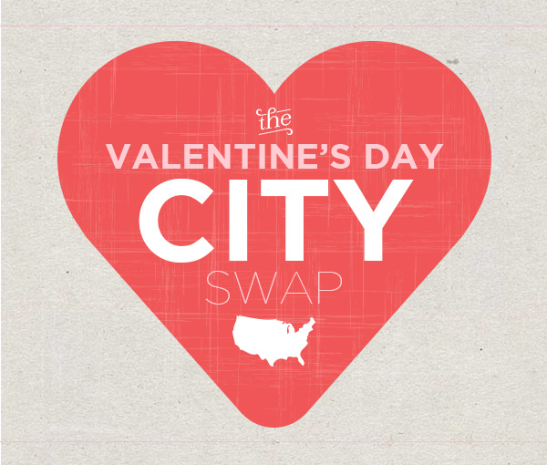 Valentine's Day City Swap
