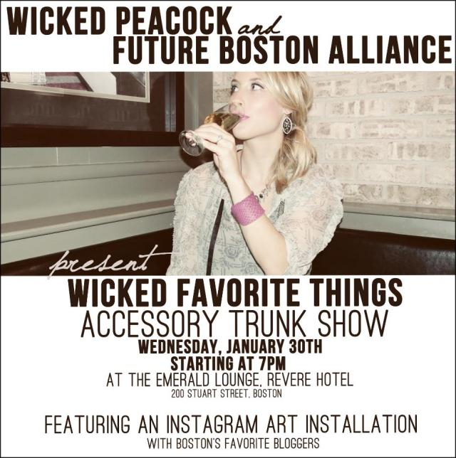 Wicked Favorite Things invitation
