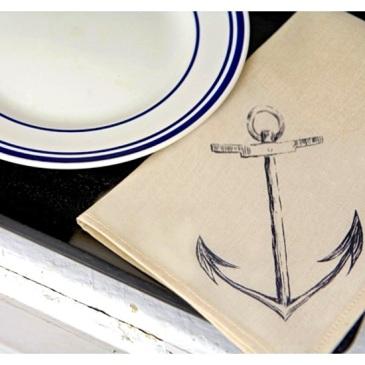 Anchor napkins