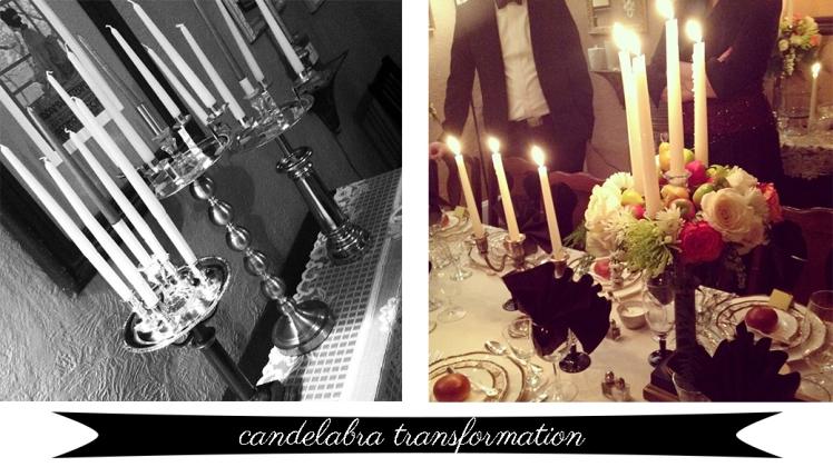 candelabra transformation
