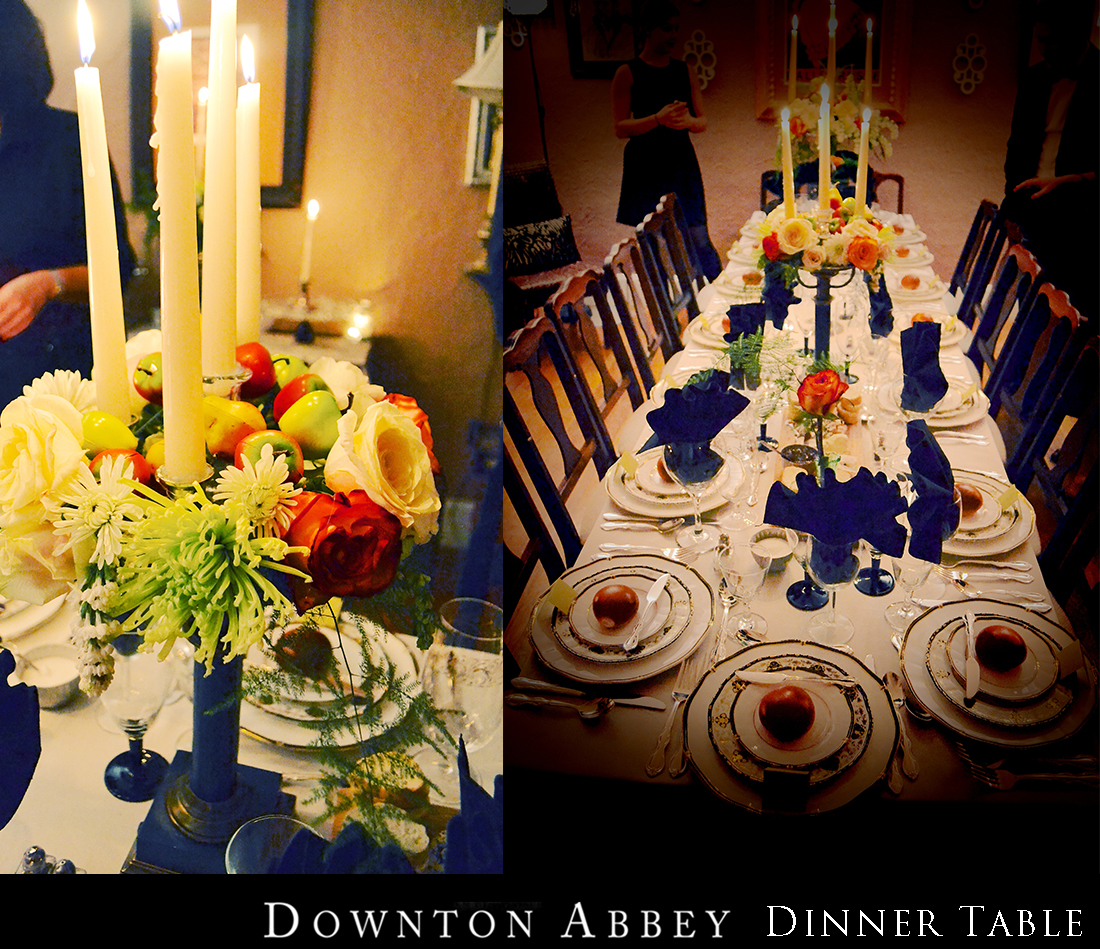 A Downton Abbey Dinner Party