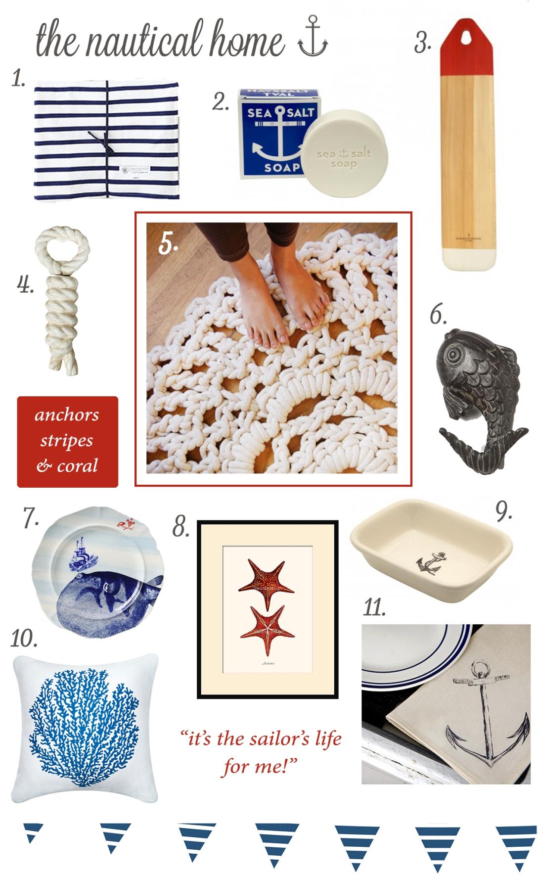 Nautical Home accessories