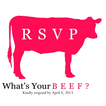 What's Your Beef reply