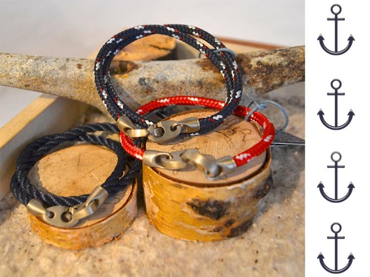 Sailormade bracelets