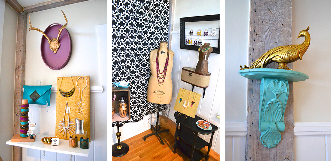 Wicked peacock accessory boutique opens in rockport pop for Home decor accessories shop