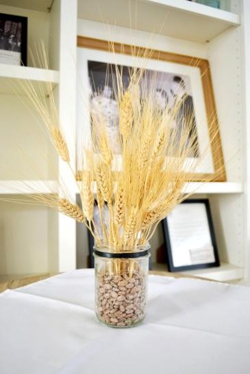 wheat centerpiece