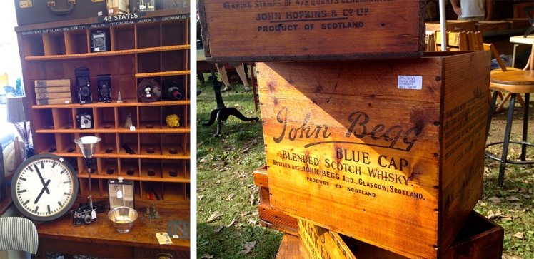 vintage whiskey boxes