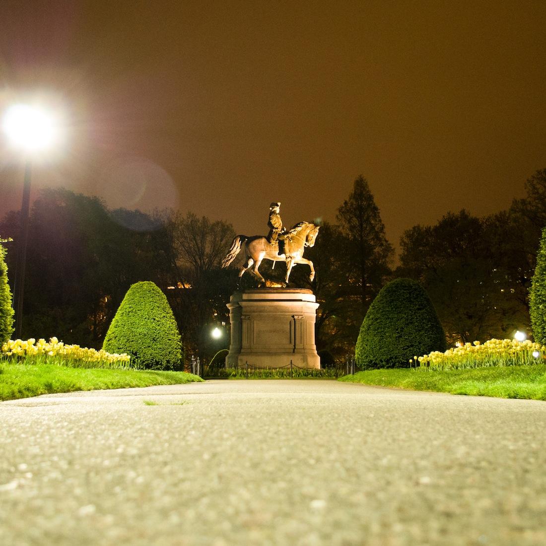 Public Garden at Night: Photos by Ethan Barber – Pop & Circumstance ...