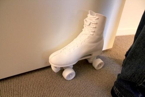 skate doorstop