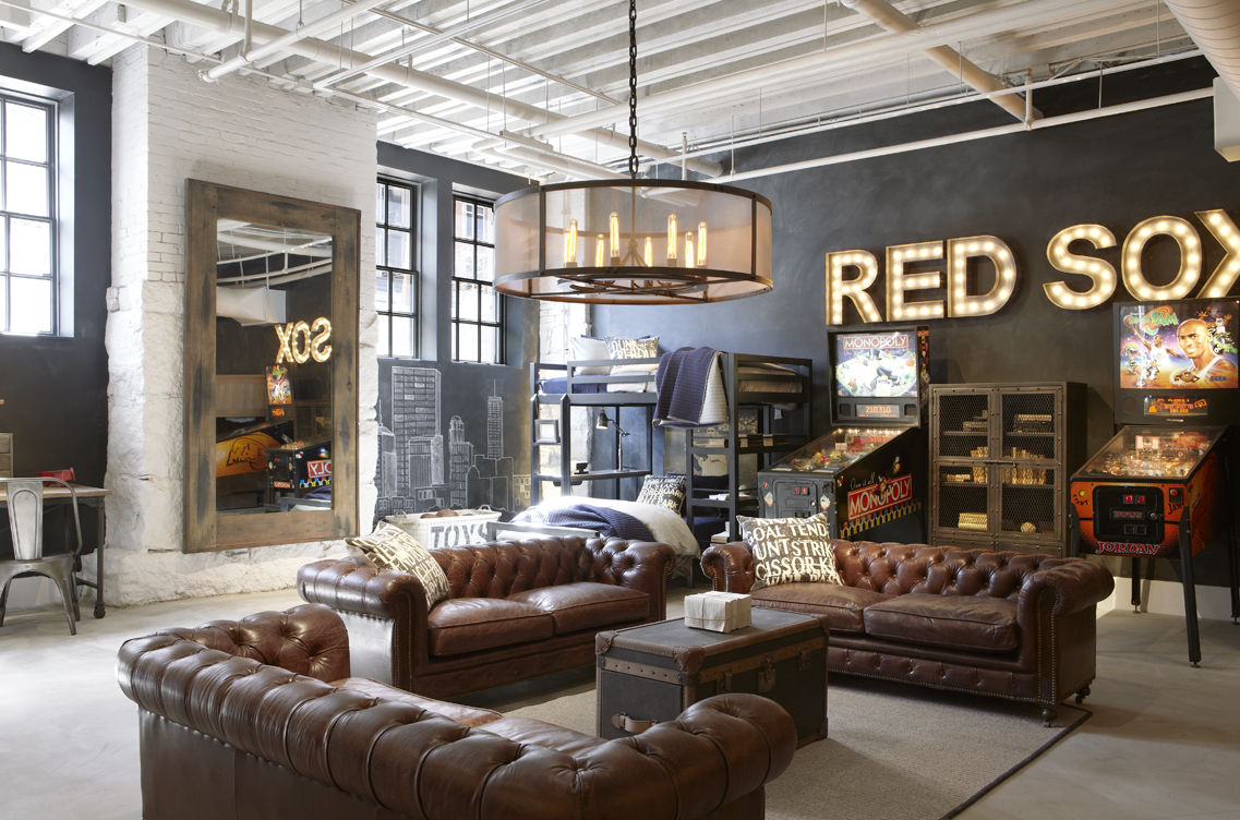 A tour of the restoration hardware flagship store in for The great furniture store