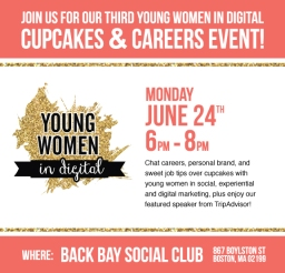 Cupcakes & Careers with Young Women in Digital