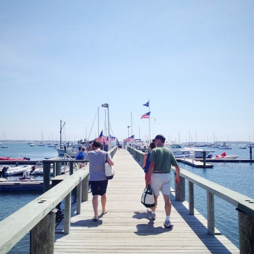 Hyannis Yacht Club dock