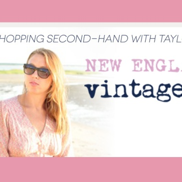 shopping vintage with Taylor Kloss