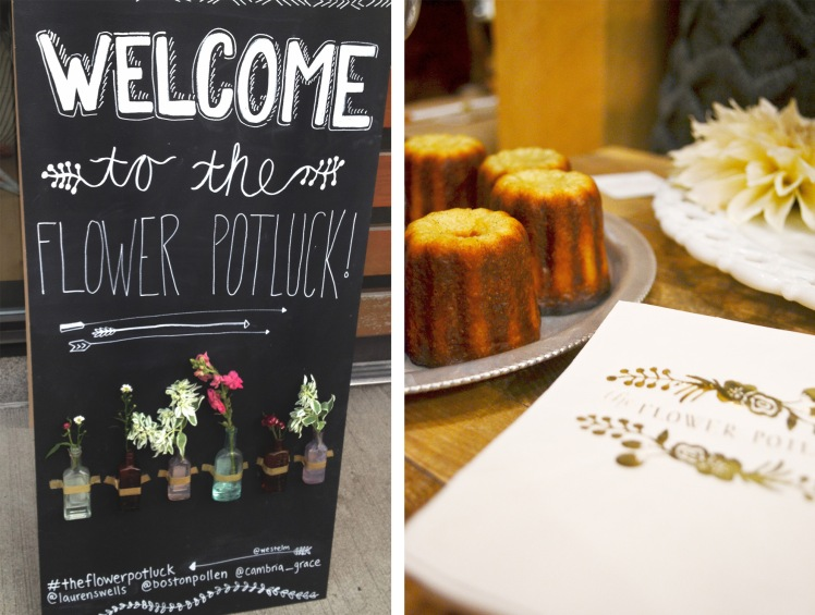 the flower potluck