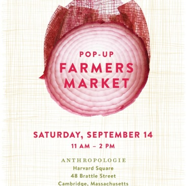 Anthropologie Farmers Market pop up