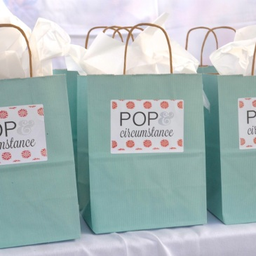 pop and circumstance bags