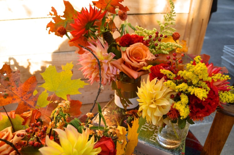 fall bouquets from boston pollen