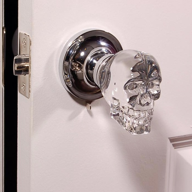 Image Source Skull Door Knob