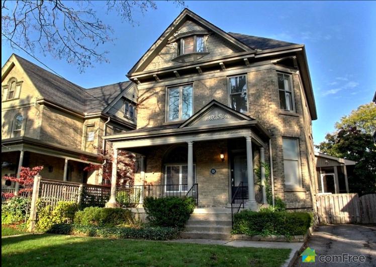 Ontario Victorian house