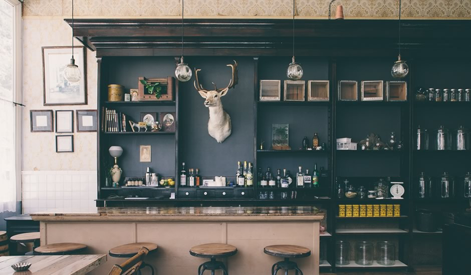 Dram apothecary tasting room
