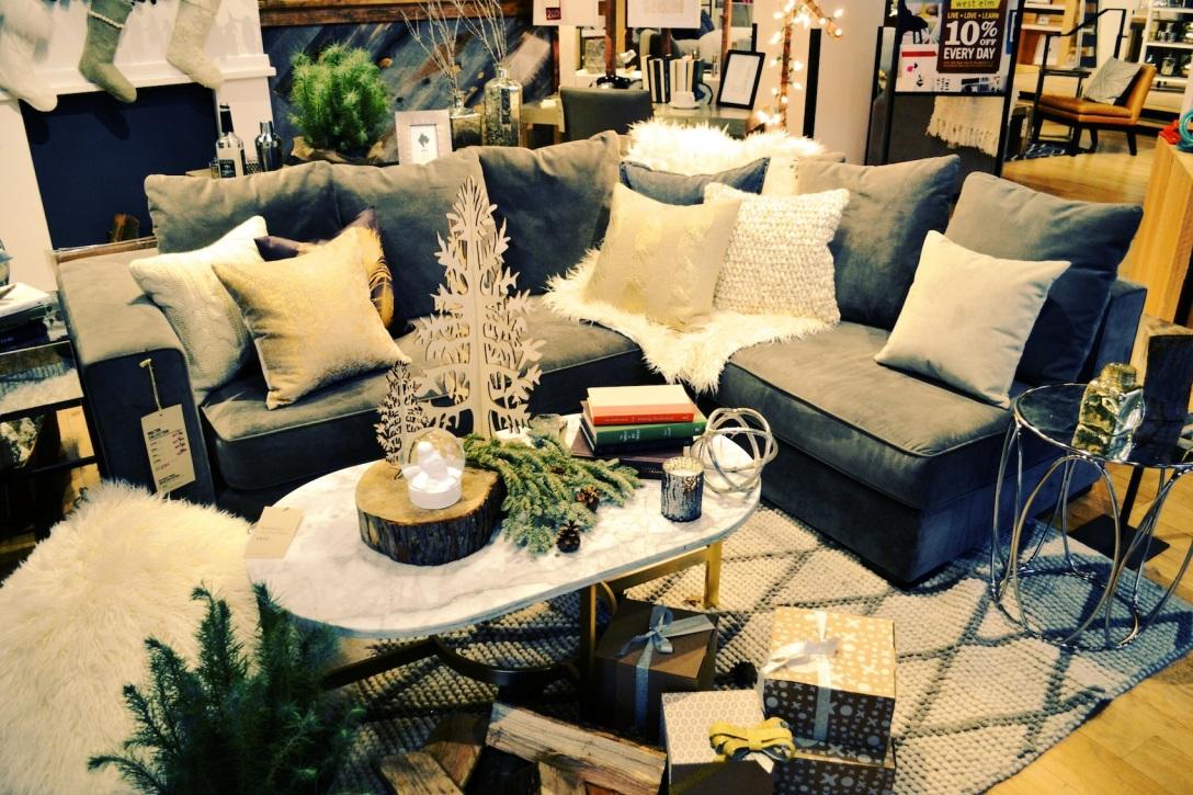 snow drift living room