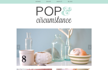 Pop & Circumstance homepage