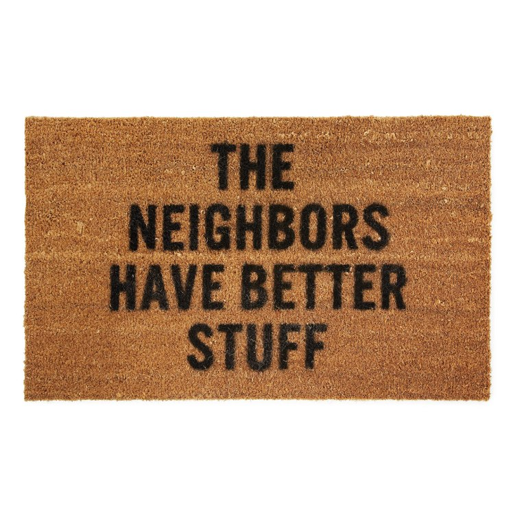 neighbors have better stuff doormat
