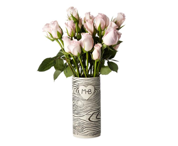 Faux Bois Vase