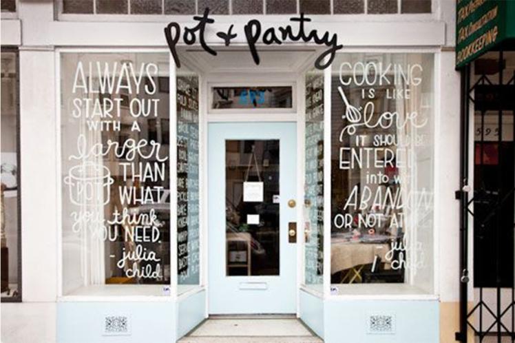 pot and pantry shop