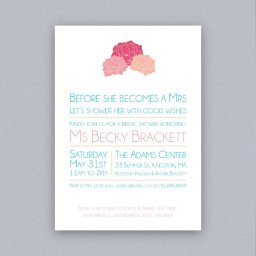 Bridal Shower Weekend & A Seaside Invitation