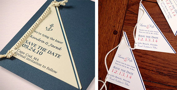 Nautical save the dates