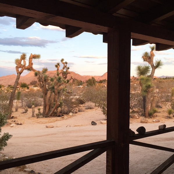 Joshua Tree House front porch