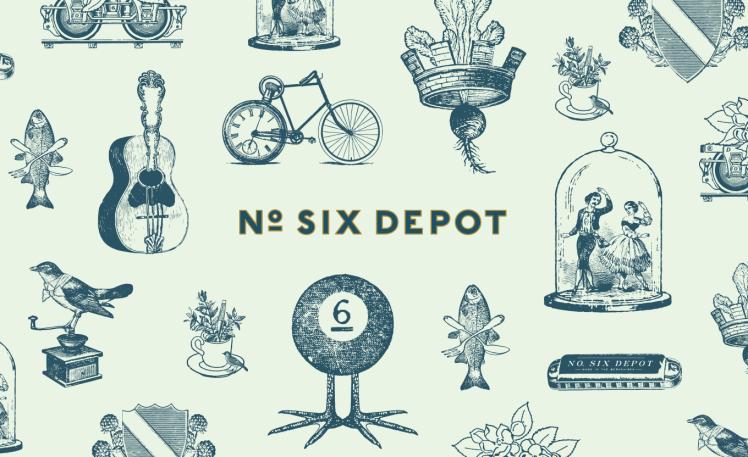 Six-Depot-Roastery-Branding