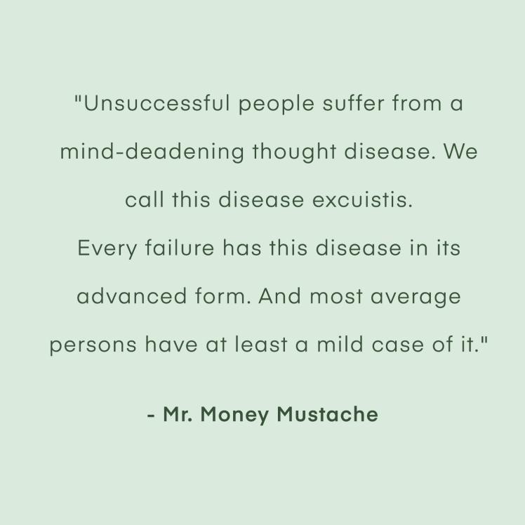 Mr. Money Mustache quote